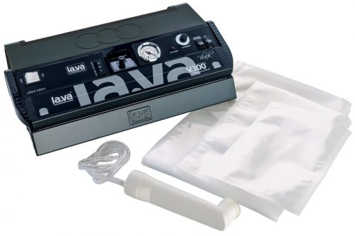 Vacuum Sealer la.va V300 Black Edition