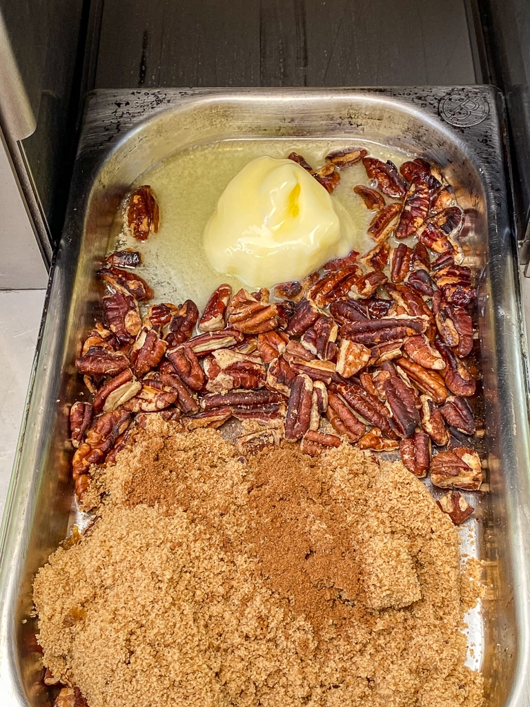 2b. Step2 Combine Pecan topping