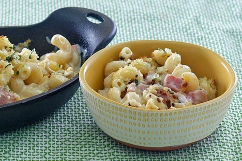 Easter Ham Mac & Cheese from the Beefer