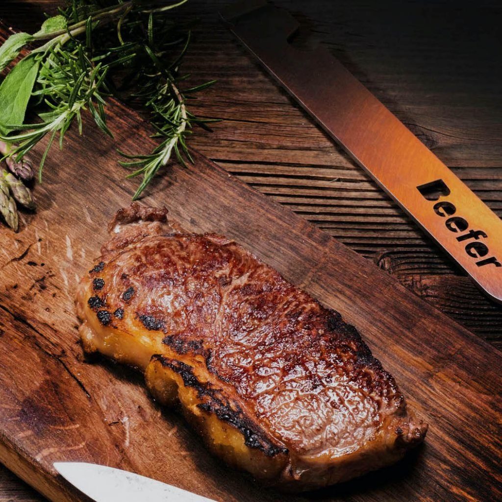 Beefer perfect steak 1500 degrees