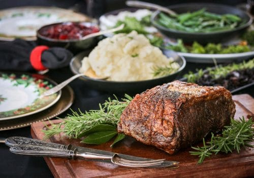 Beefer's Golden Crust Holiday Beef Roast
