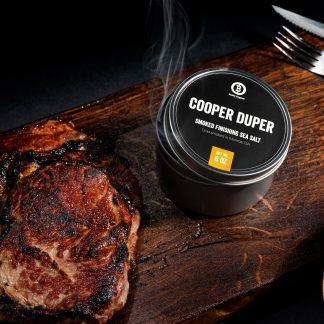 Cooper Duper Smoke Salt from Beefer