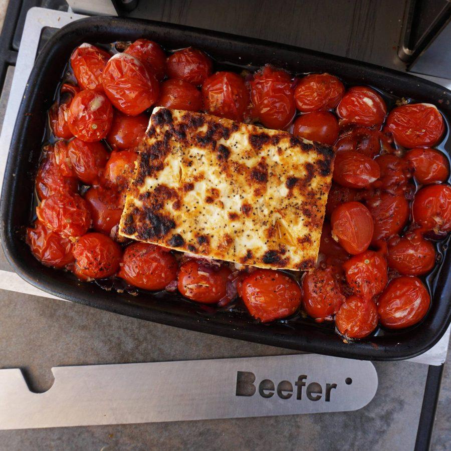 cooked feta